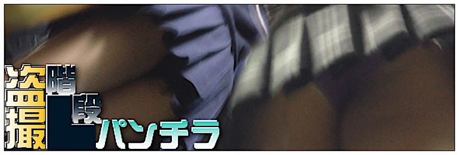セックス 盗撮:追い撮り!!階段パンチラ:丸見えまんこ