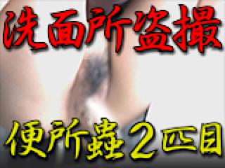 セックス 盗撮:洗面所盗SATU BEN所蟲リターンズ2匹目:パイパンマンコ