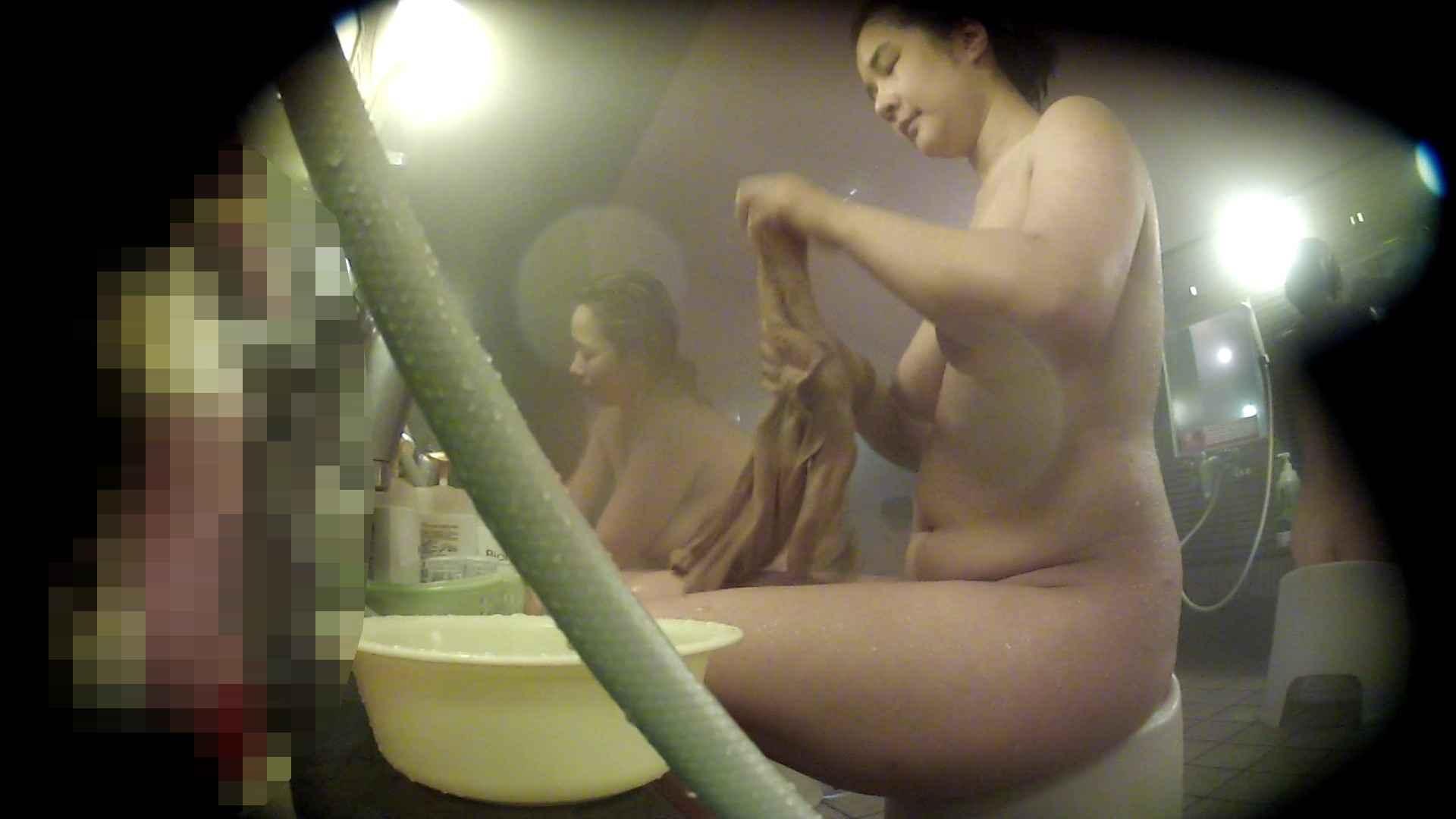 ハイビジョン 洗い場!豊満な乳が大地へと・・・乳輪の大きさは人それぞれ 銭湯  95pic 10