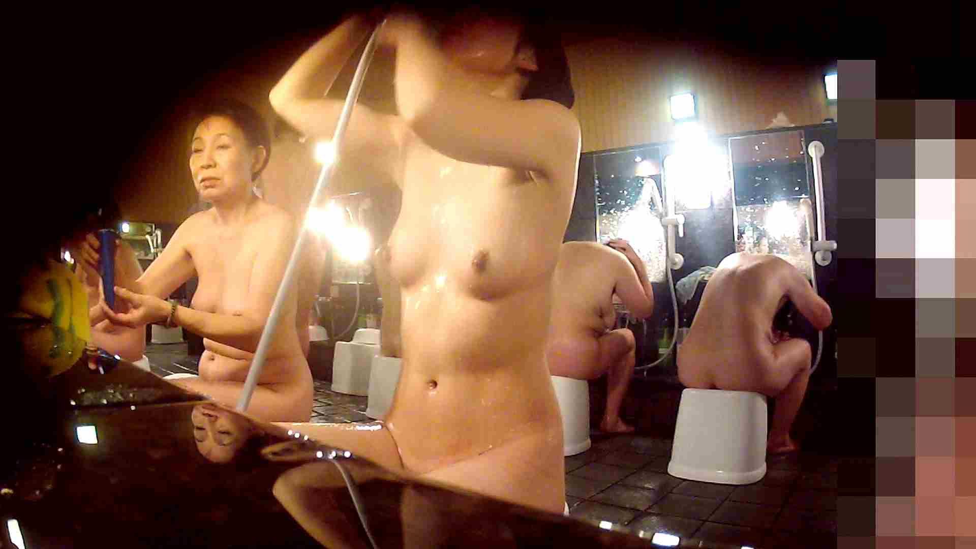 洗い場!陰毛が綺麗に整ってる微美人お嬢様 潜入  64pic 21