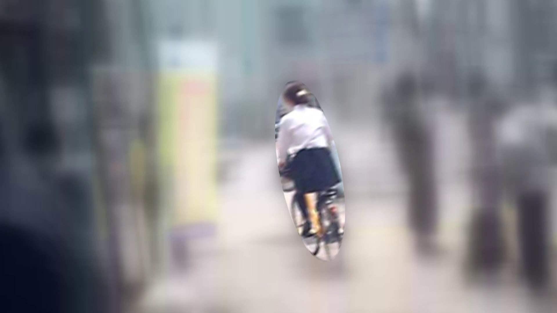自転車パンチラ Vol.05 OL  107pic 1