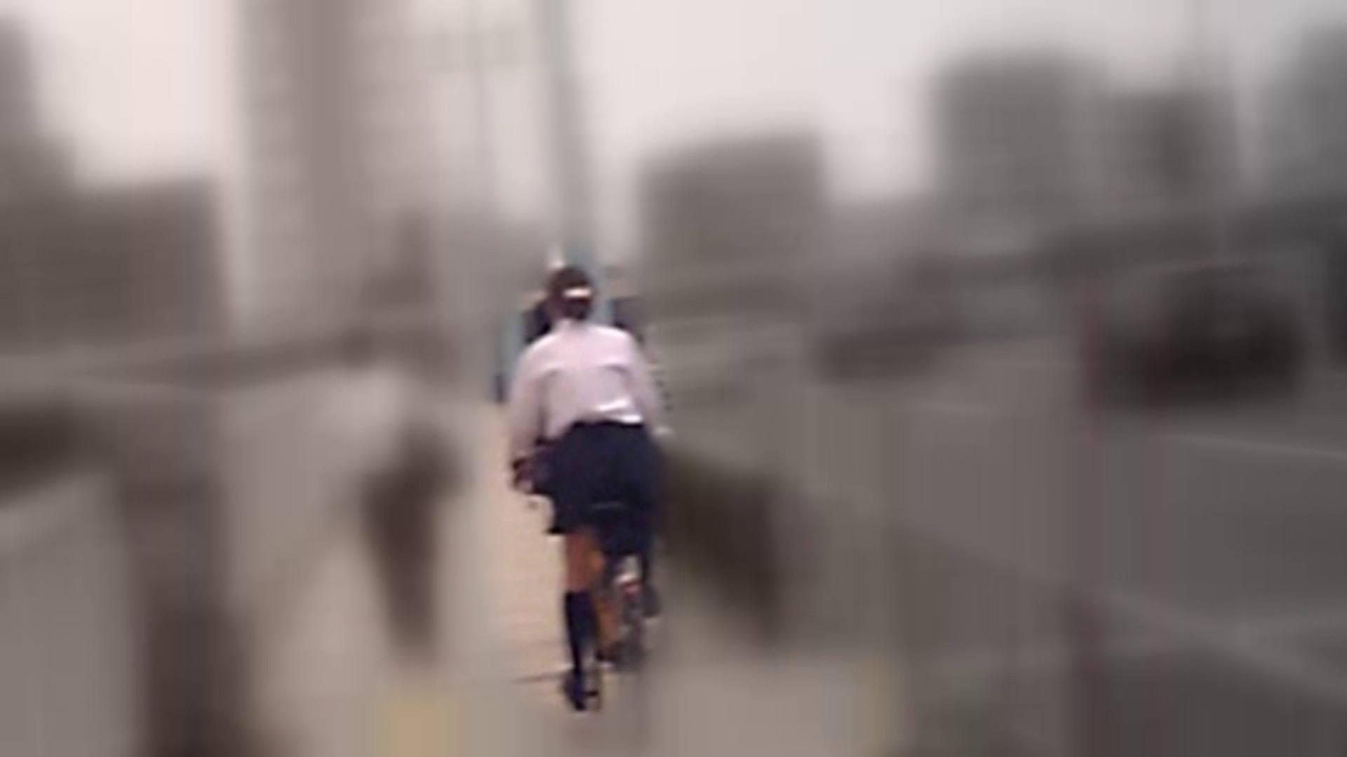 自転車パンチラ Vol.05 OL  107pic 30