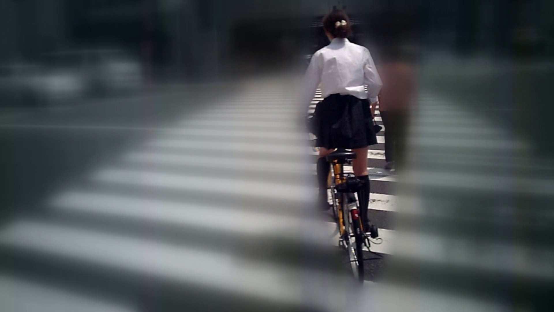 自転車パンチラ Vol.05 OL  107pic 66